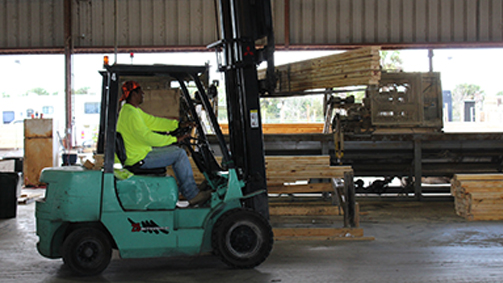 Southern Truss Forklift