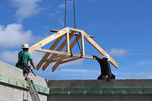 Southern Truss Installation